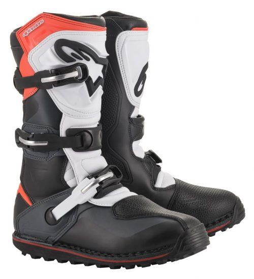 Alpinestars Tech T, schwarz-grau-rot 31