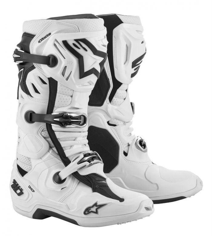 Alpinestars Tech 10 Supervented, weiß 1