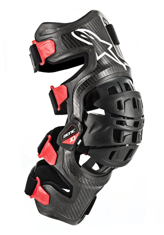 Alpinestars Bionic-10 Carbon Knee Brace Set, schwarz 2