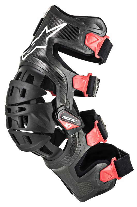 Alpinestars Bionic-10 Carbon Knee Brace Set, schwarz 1