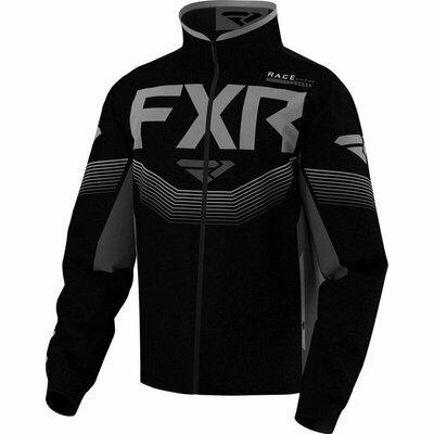 FXR ColdCross Jacke Schwarz-Grau, Modell 2021 2