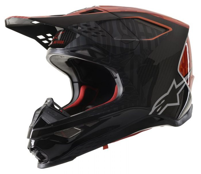 Alpinestars Supertech M10 Alloy, schwarz-orange-rot 1