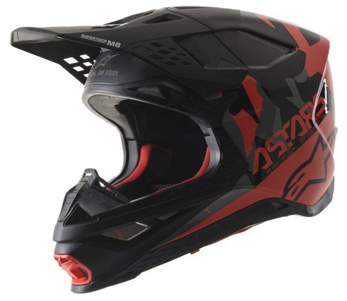 Alpinestars Supertech M8 Echo, schwarz-grau-rot 1