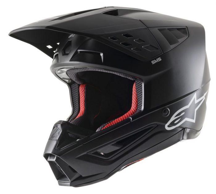 Alpinestars SM5 Solid, schwarz 1