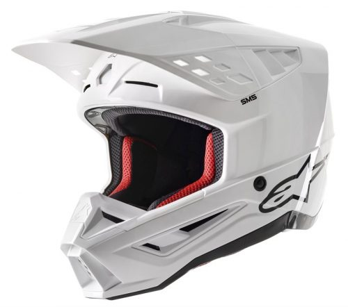 Alpinestars SM5 Solid, weiß 2