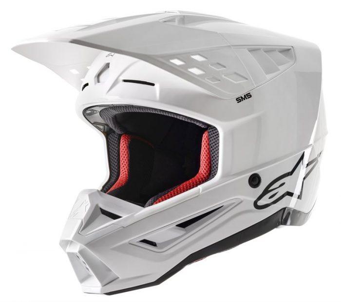 Alpinestars SM5 Solid, weiß 1