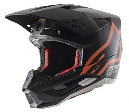 Alpinestars SM5 Compass, schwarz-orange 3