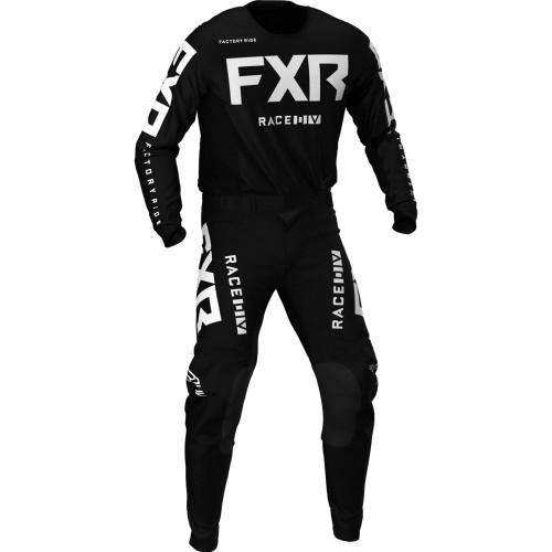 FXR Podium MX Combo, black-white 2