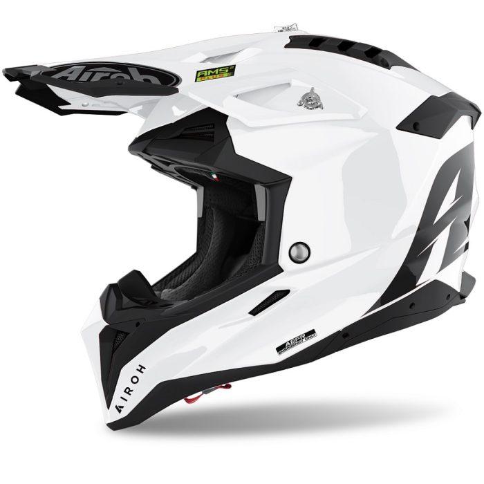 Airoh Aviator 3 Color Helm weiß-glanz