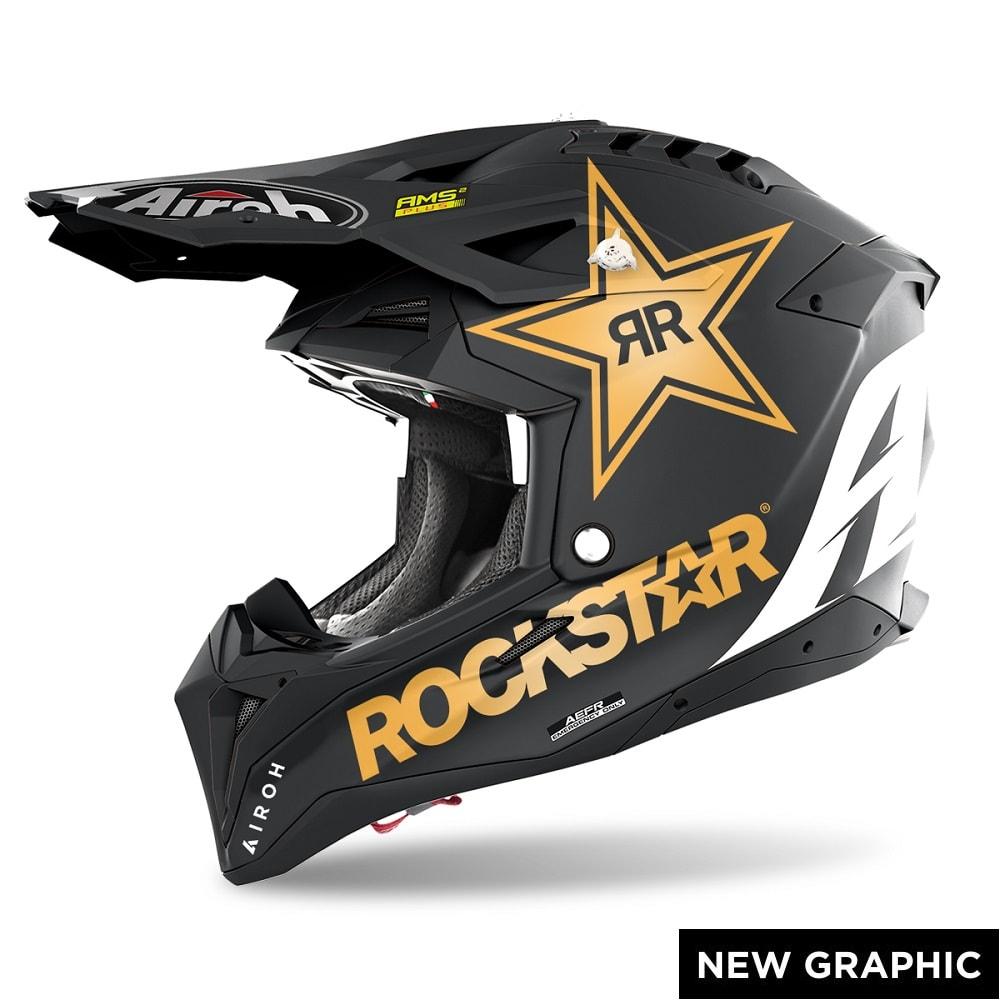 Airoh Aviator 3 Rockstar 22 Helm matt