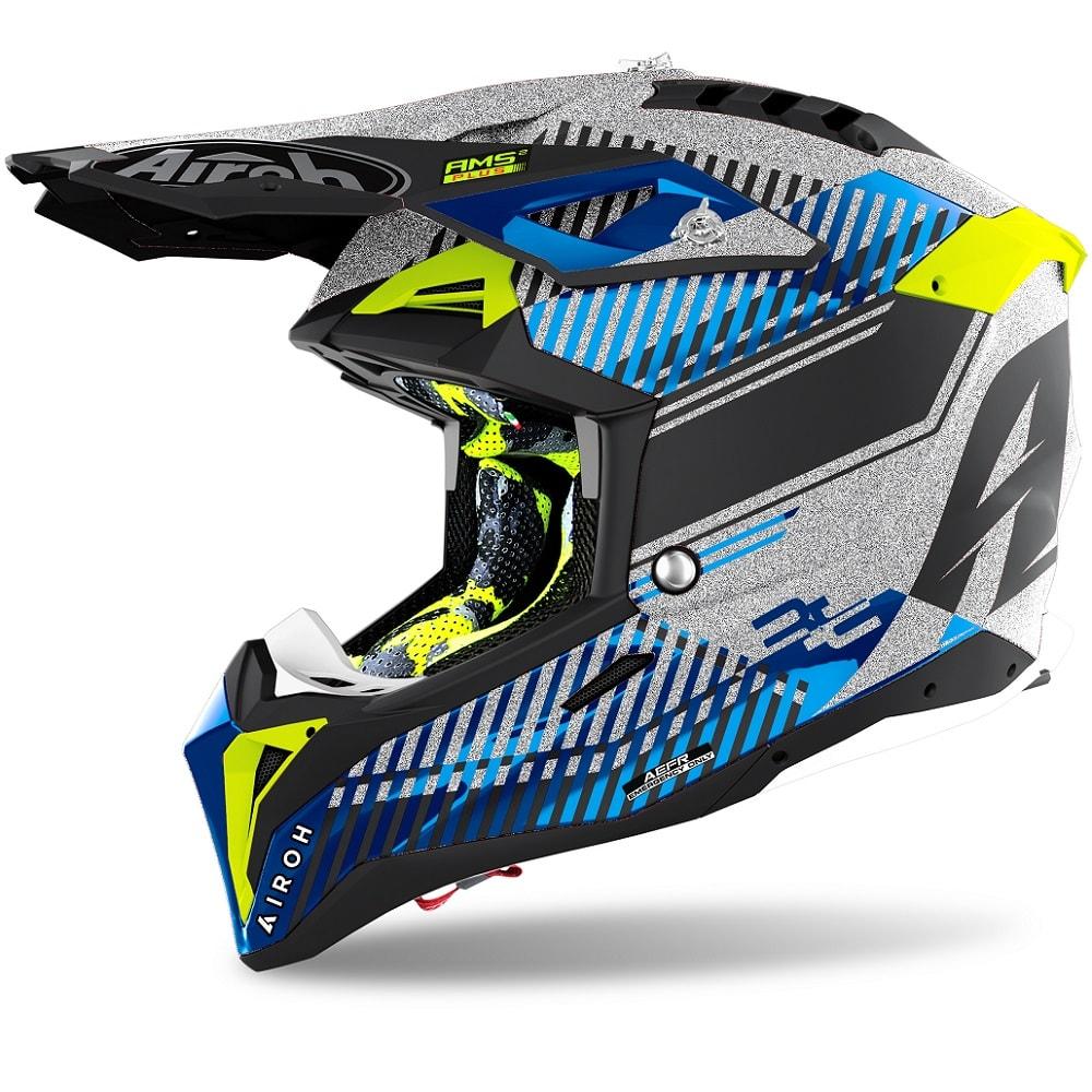 Airoh-Aviator-3-Wave-Helm-silber-chrome-2022