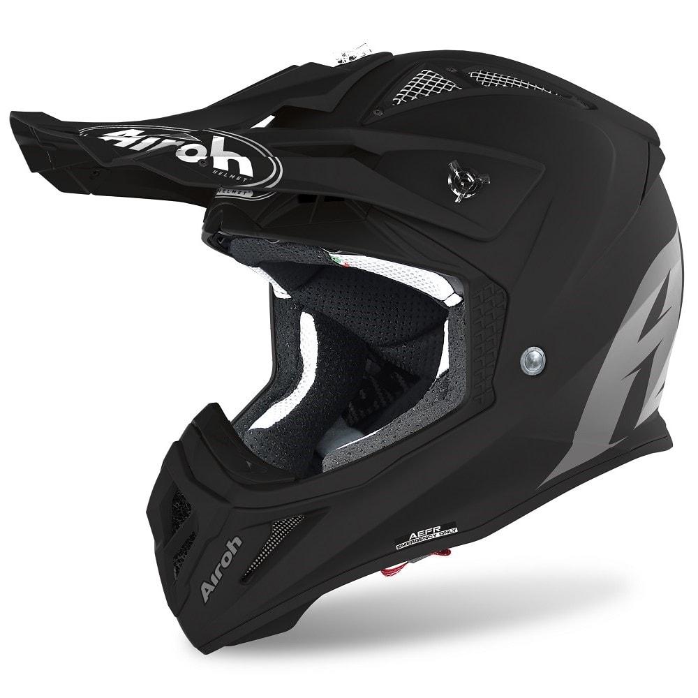 Airoh Aviator ACE Color Helm schwarz-matt 2022