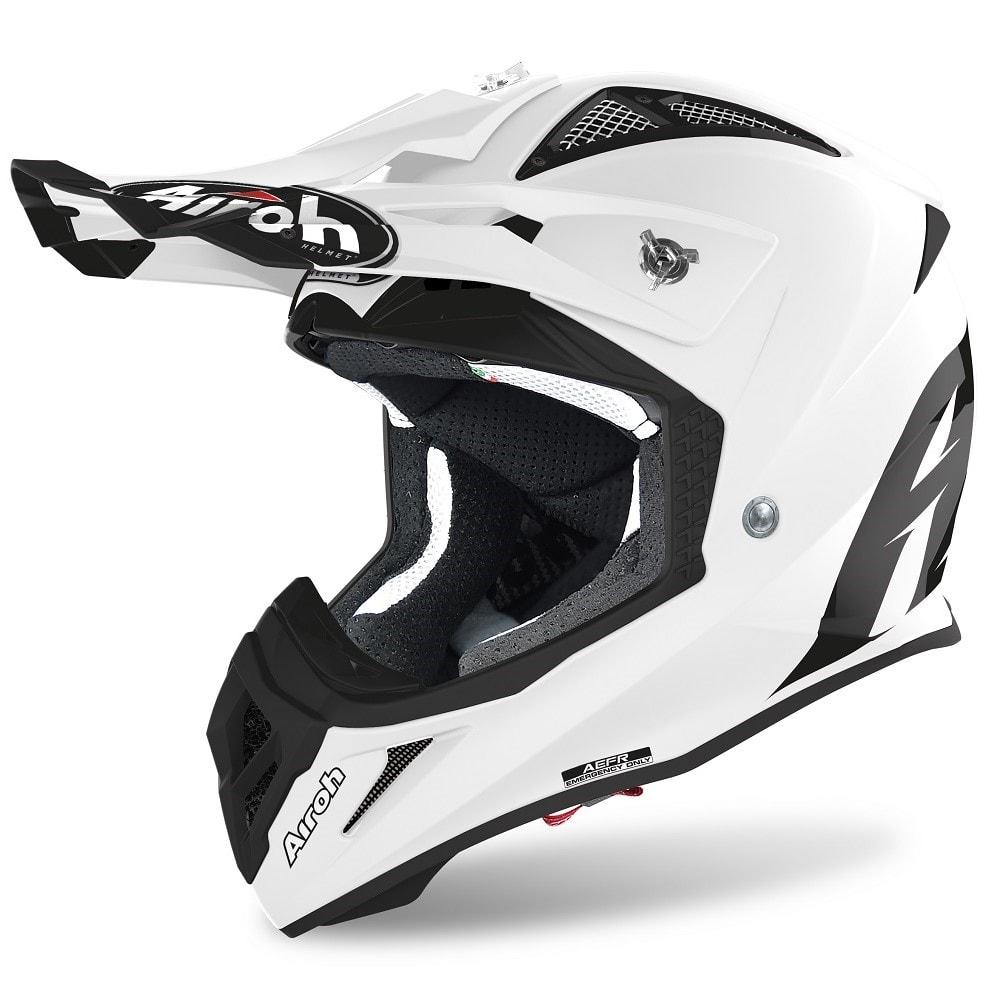 Airoh Aviator ACE Color Helm weiß-glanz