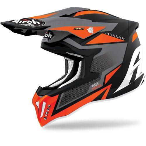 Airoh Strycker Axe Helm orange-matt