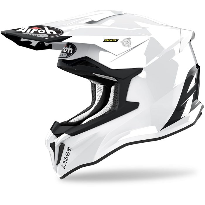 Airoh Strycker Color Helm weiß-glanz