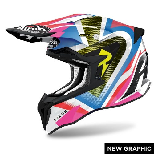 Airoh Strycker View Helm glanz