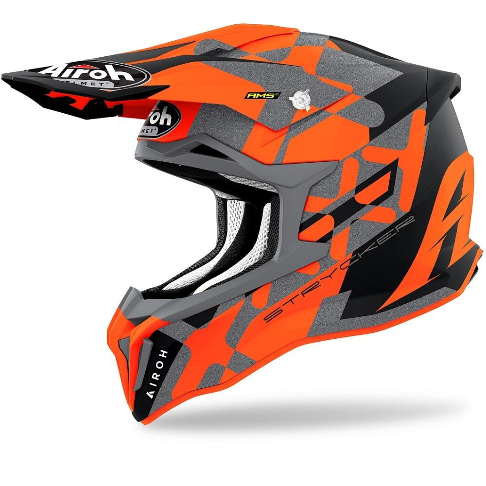 Airoh Strycker XXX Helm orange-matt