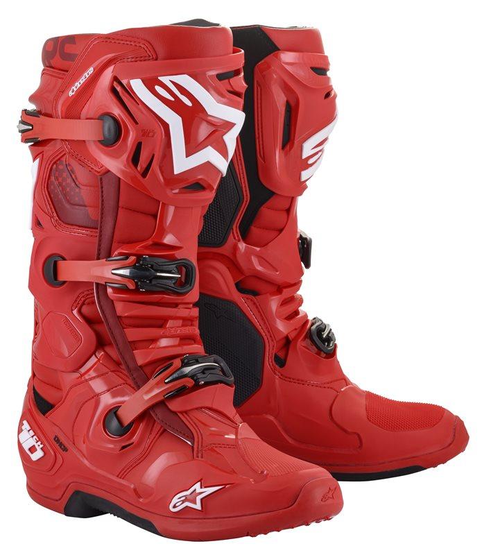 Alpinestars Tech 10 Stiefel rot 2022