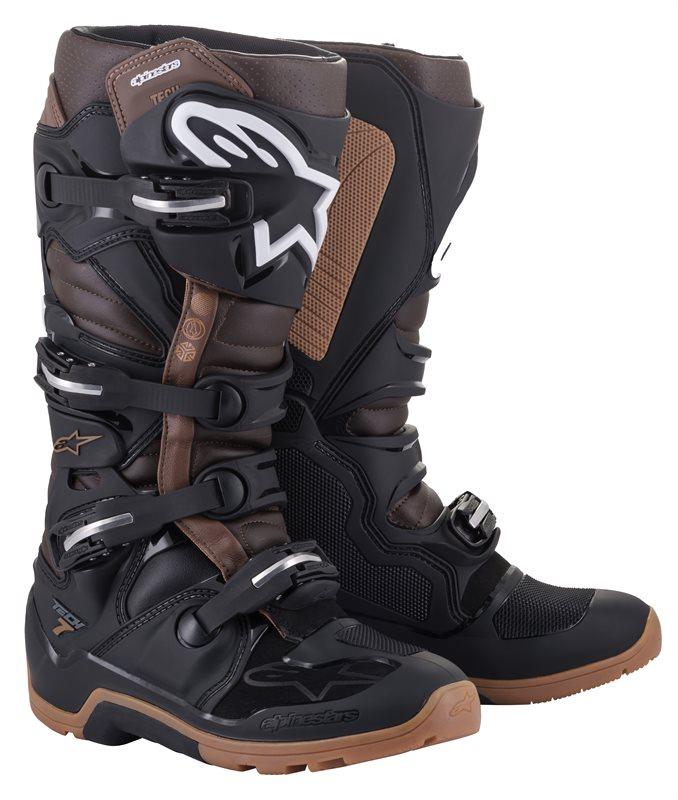 Alpinestars Tech 7 Enduro Stiefel schwarz-braun