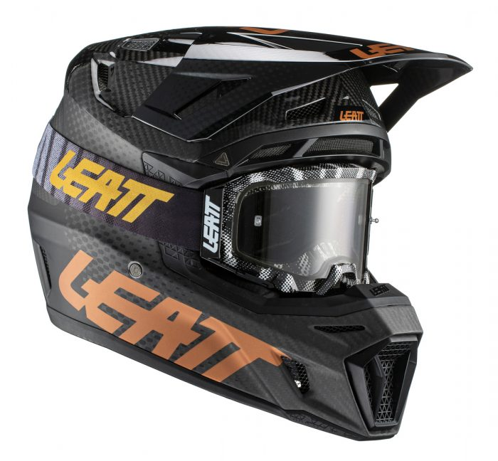 Leatt Moto 9.5 Carbon V21, black 1