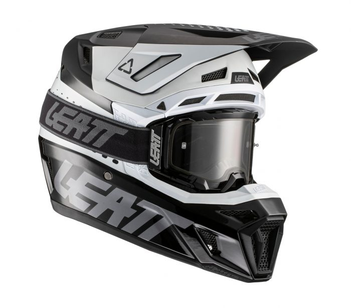 Leatt Moto 8.5 V21, black-white 1