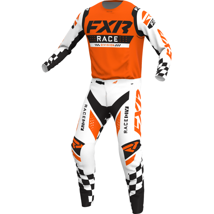 FXR Revo Flow LE Combo, competition orange 1