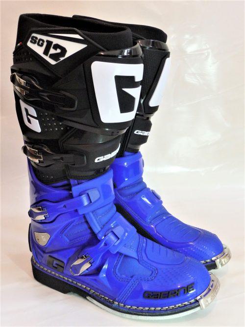 Gaerne SG 12, blau-schwarz 22