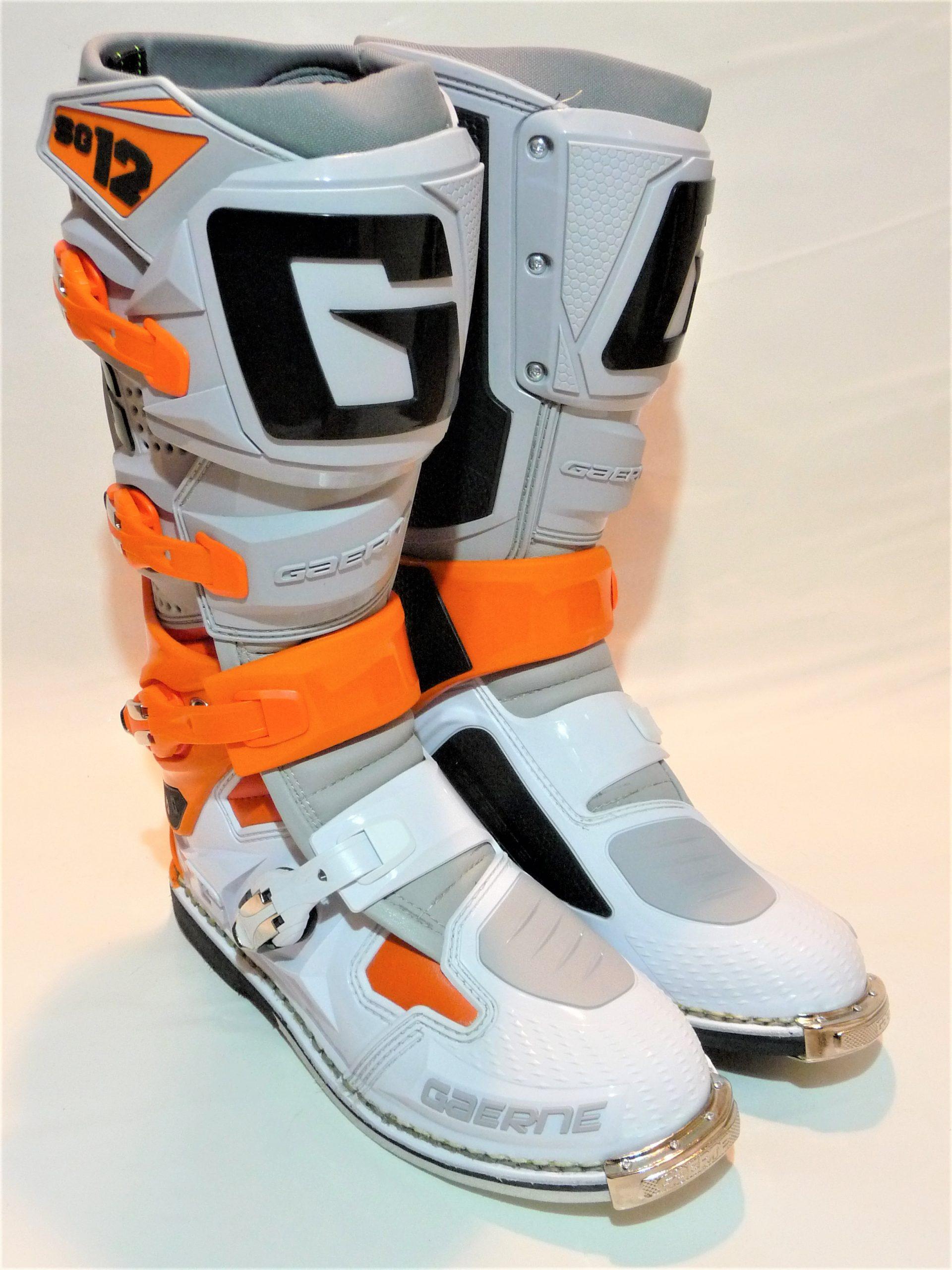 Gaerne SG 12 Stiefel 21 orange-grau-weiß