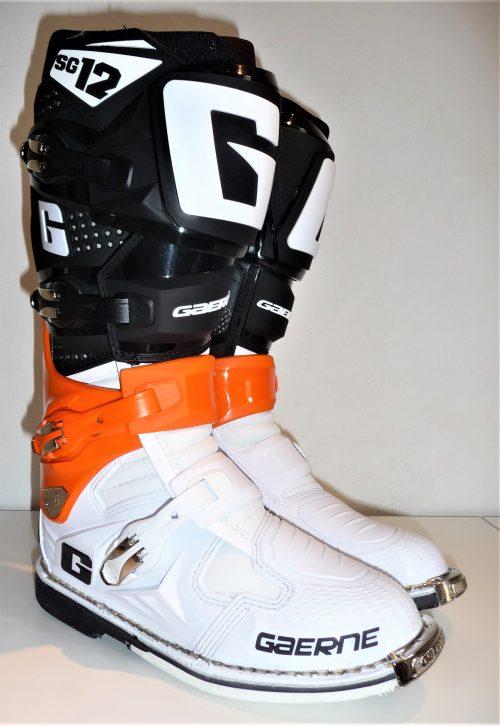 Gaerne SG 12, orange-schwarz-weiß 2
