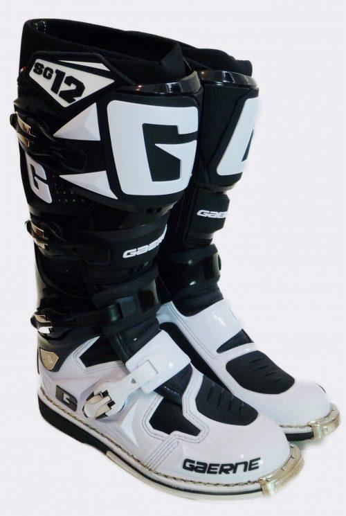 Gaerne SG 12, schwarz-weiß 30