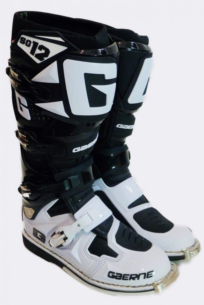 Gaerne SG 12, schwarz-weiß 1