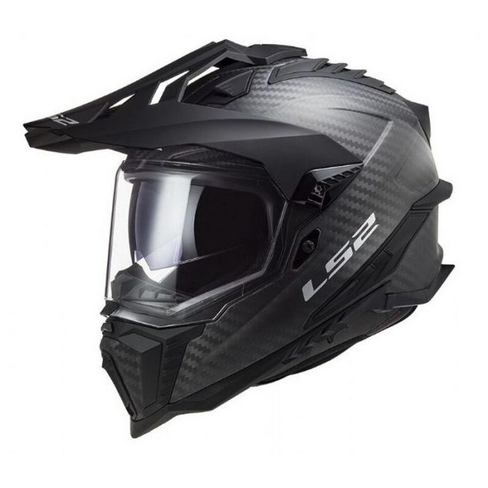 LS2 MX 701 Explorer C Solid Helm carbon 2022