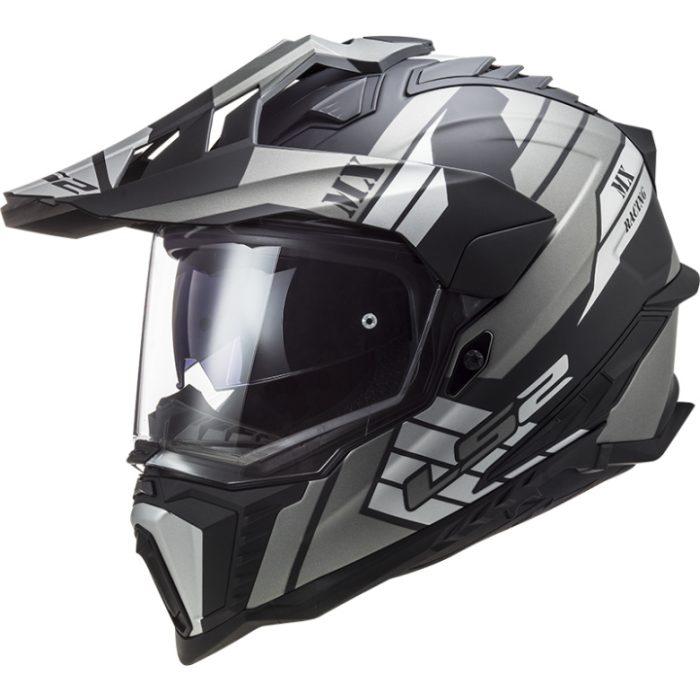 LS2 MX 701 Explorer HPFC Atlantis Helm matt-titan