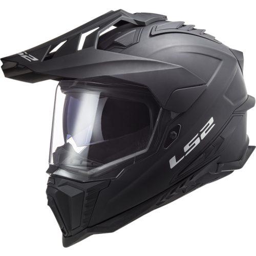 LS2 MX 701 Explorer HPFC Solid Helm matt-schwarz