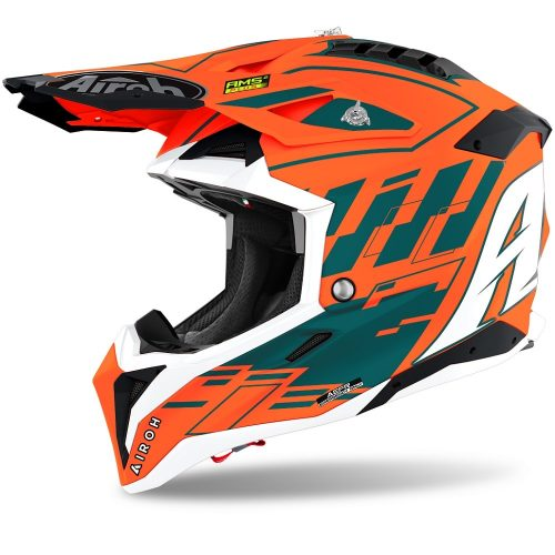 Airoh Aviator 3 Rampage, orange-matt 10