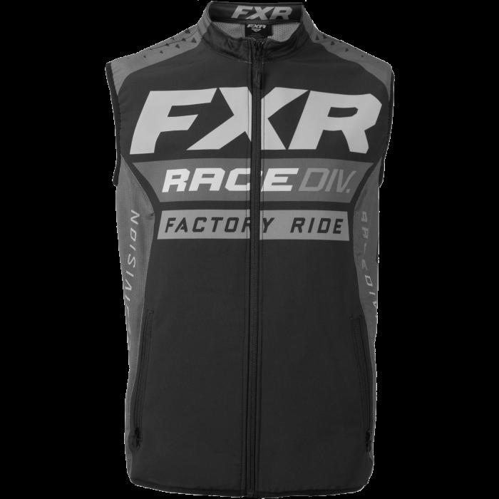 FXR MX Vest, black-char-grey 1