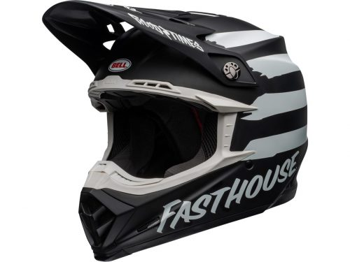 BELL Moto-9 Mips Helm Fasthouse Signia, matte black-chrome 6