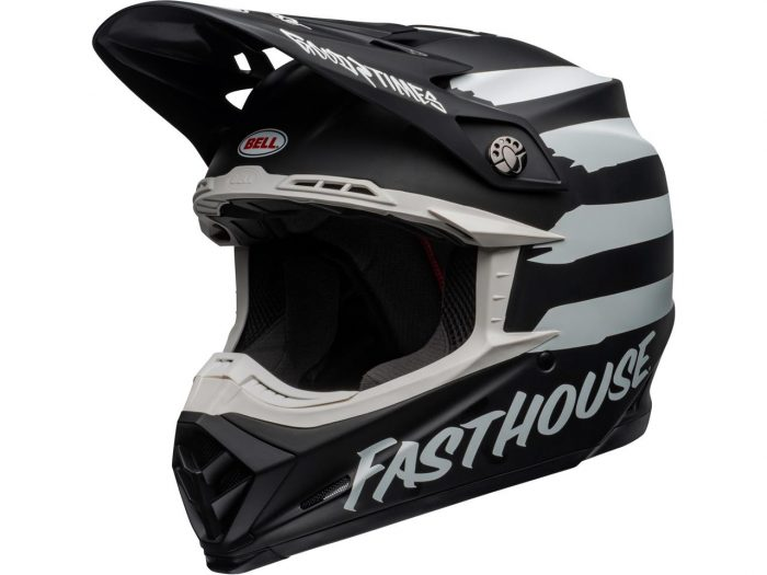 BELL Moto-9 Mips Helm Fasthouse Signia, matte black-chrome 1