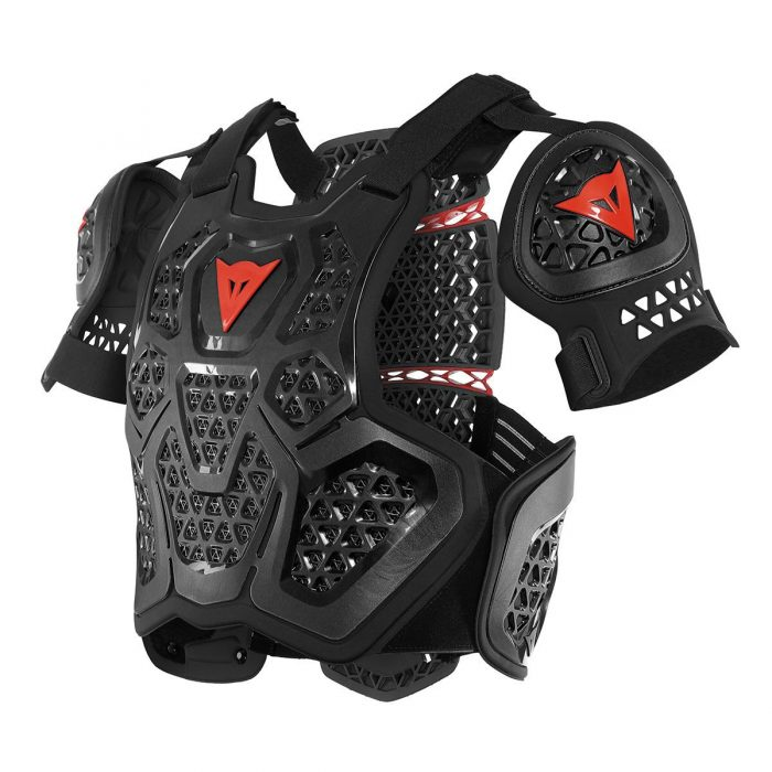 Dainese MX 1 Roost Guard, schwarz 1