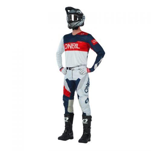 O´Neal OnAirwear Grau-Rot, Modell 2020 22