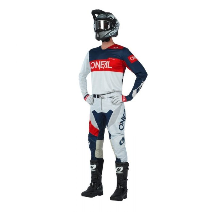 O´Neal OnAirwear Grau-Rot, Modell 2020 1
