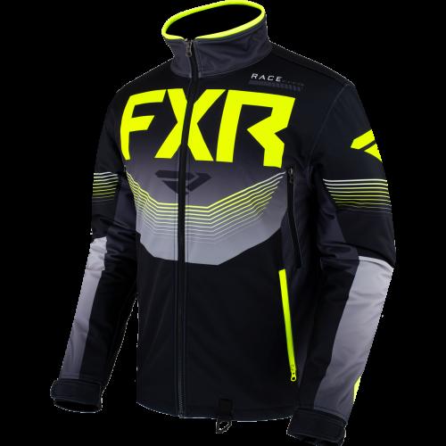 FXR Cold Cross RR Jacket, black-char-hi vis 5
