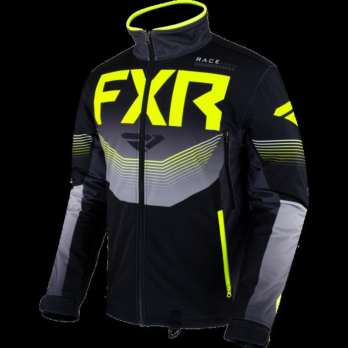 FXR Cold Cross RR Jacket, black-char-hi vis 1