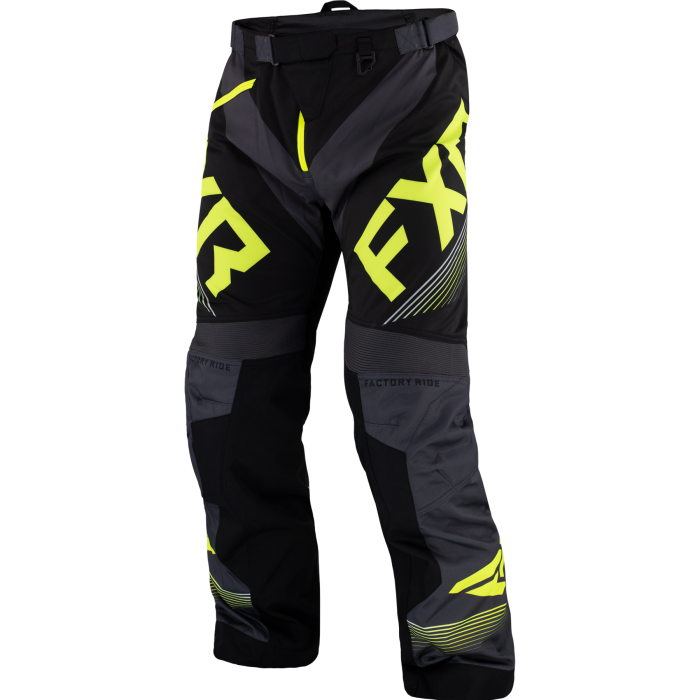 FXR Cold Cross RR Pant, black-char-hi vis 1