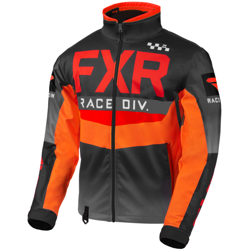 FXR Cold Cross RR Jacket, red-black-orange-char 6
