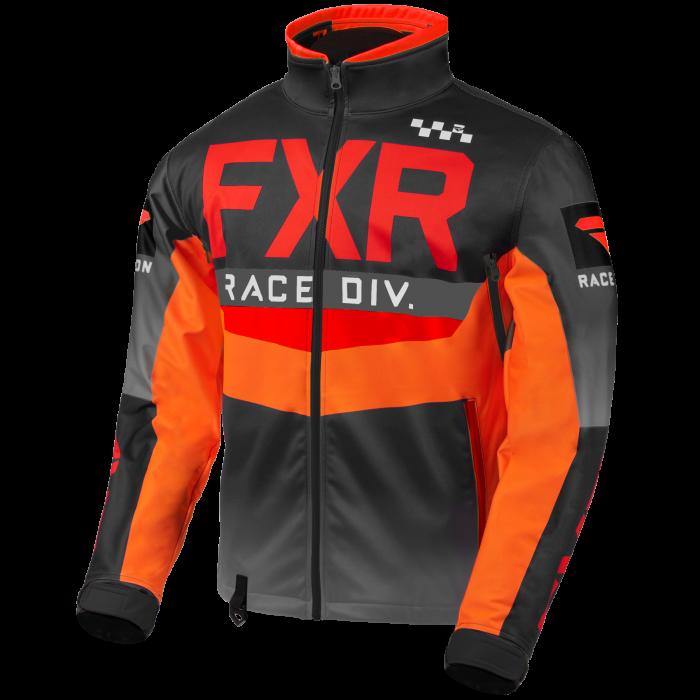 FXR Cold Cross RR Jacket, red-black-orange-char 1