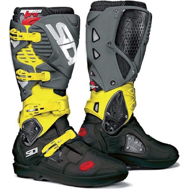 Sidi Crossfire 3 SRS, schwarz-gelb-grau, limited 1