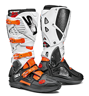 Sidi Crossfire 3 SRS, orange-schwarz-weiß 2