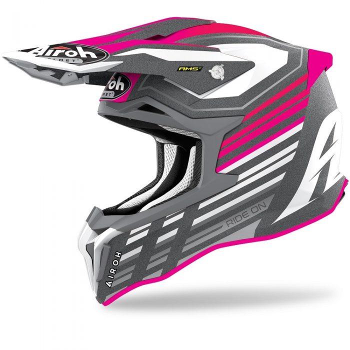 Airoh Strycker Shaded, pink-matt 1